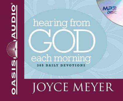 Hearing from God Each Morning: 365 Daily Devotions (CD-Audio)
