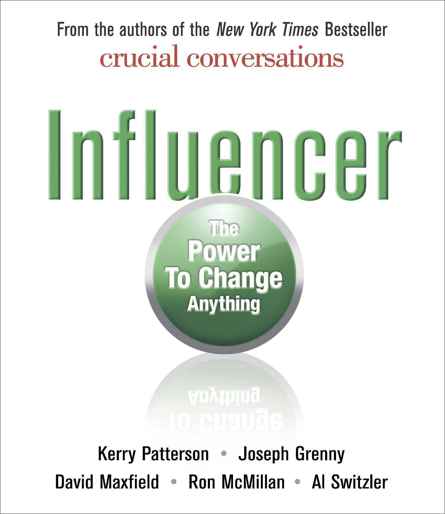 Influencer: The Power to Change Anything (CD-Audio)