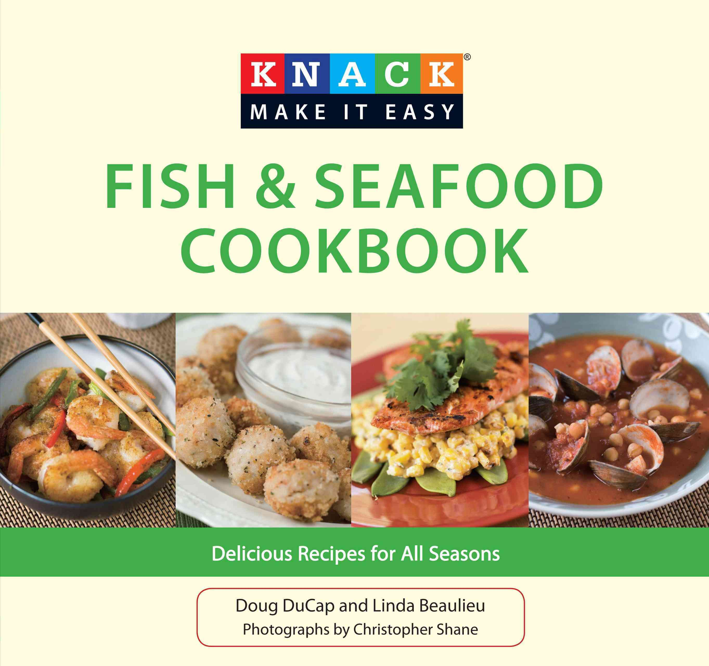 Knack Fish & Seafood Cookbook: Delicious Recipes for All Seasons (Paperback)