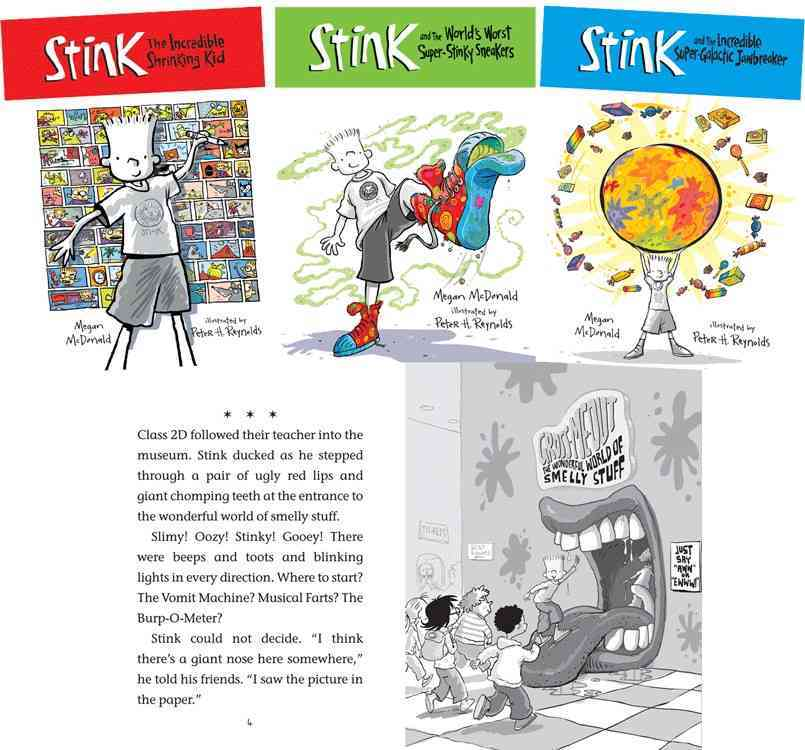 Stink Set 1 (Hardcover)