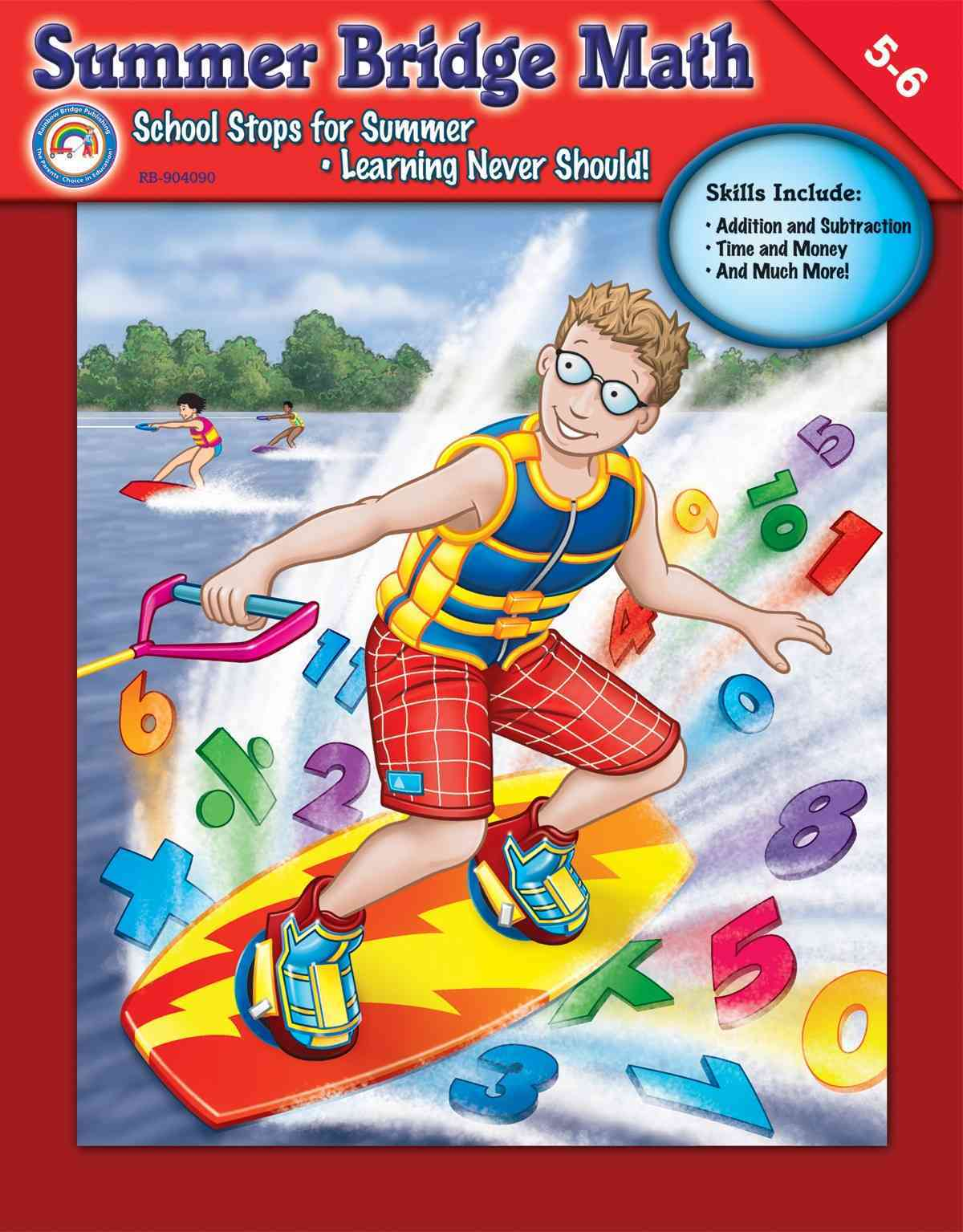 Summer Bridge Math Grade 5-6 (Paperback)