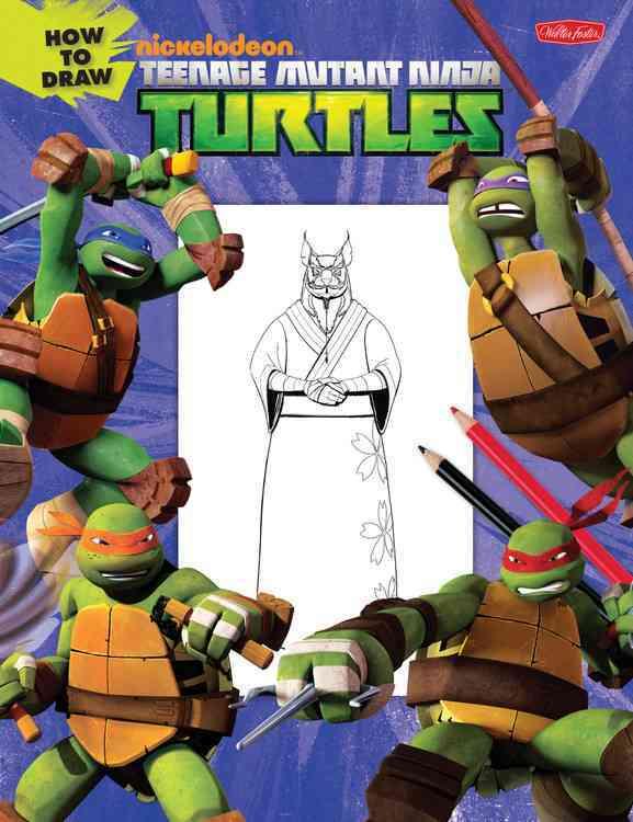 How to Draw Teenage Mutant Ninja Turtles (Paperback)