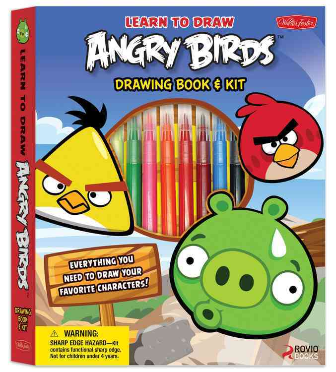 Learn to Draw Angry Birds Drawing Book & Kit (Hardcover)