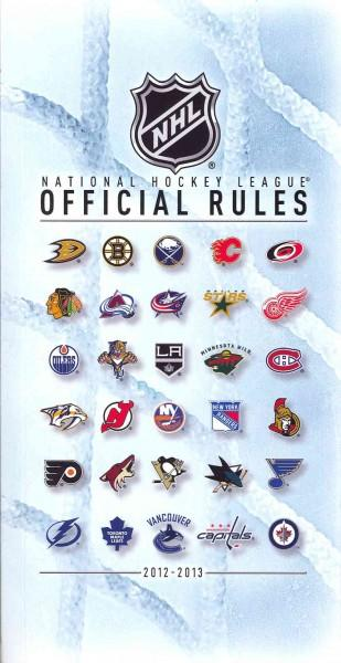 National Hockey League Official Rules 2012-2013 (Paperback)