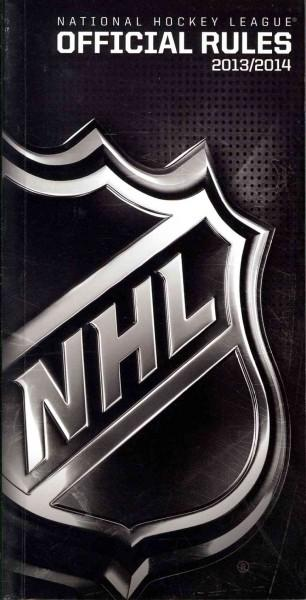 National Hockey League Official Rules 2013-2014 (Paperback)