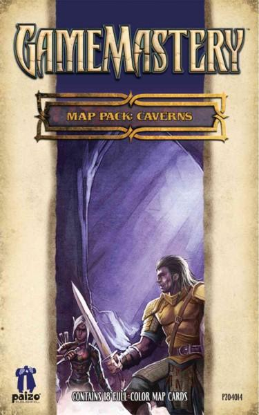 Gamemastery Map Pack Caverns (Cards)