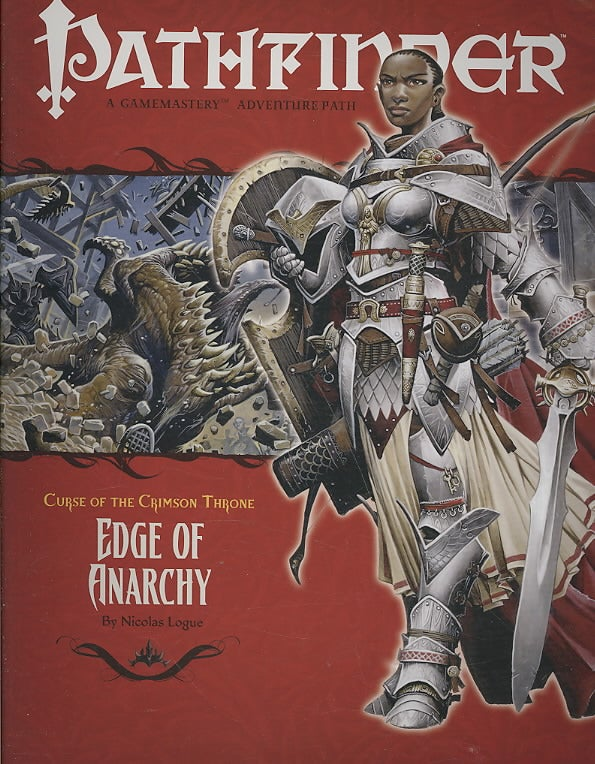 Curse of the Crimson Throne: Edge of Anarchy (Paperback)