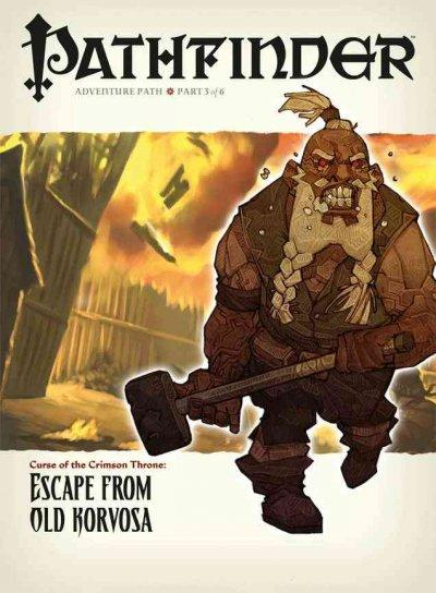 Pathfinder Curse of the Crimson Throne 9: Escape from Old Korvosa (Paperback)