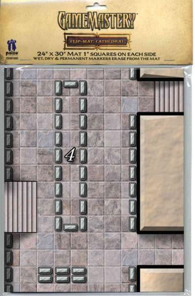 Gamemastery Flip-mat Cathedral (Game)