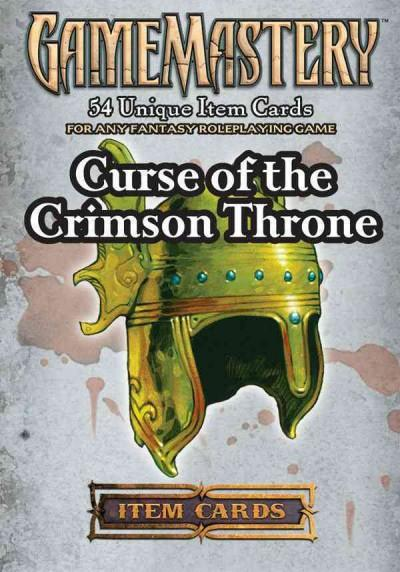 Gamemastery Item Cards: Curse of the Crimson Throne (Cards)
