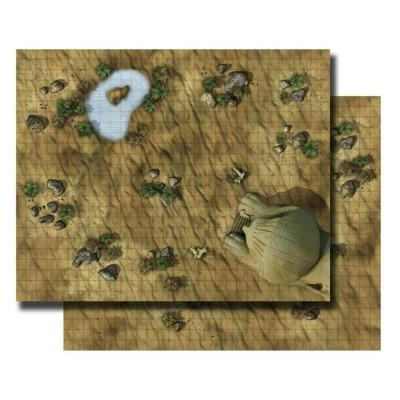 Gamemastery Flip-mat: Desert (Game)