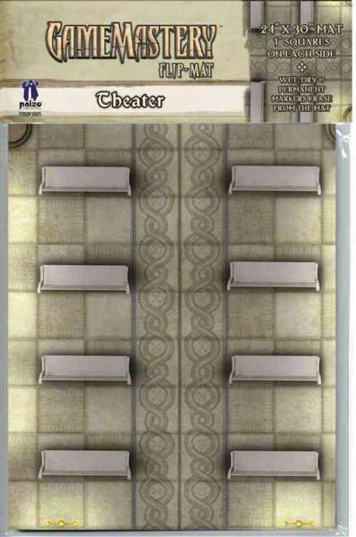 Gamemastery Flip-mat: Theater (Game)