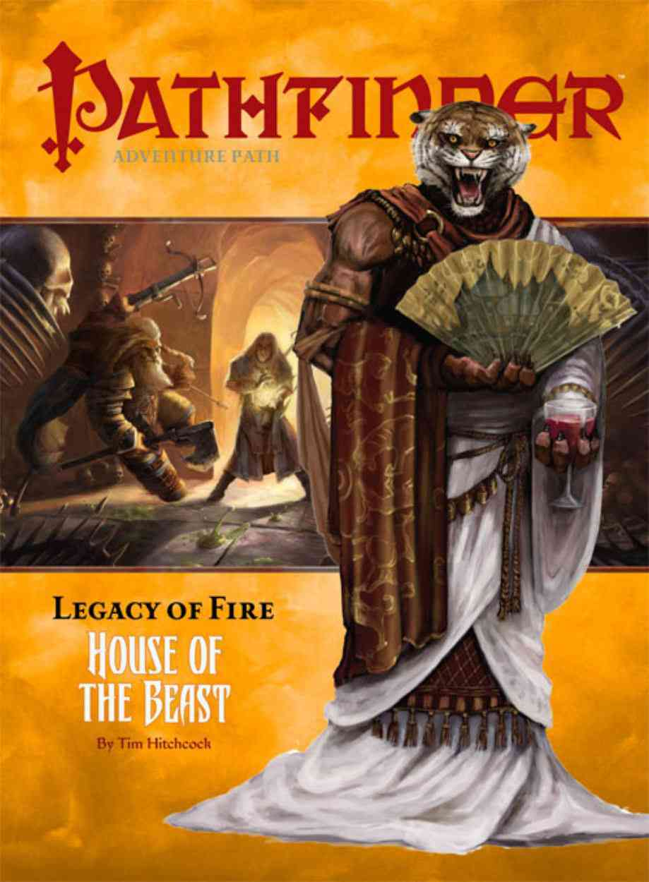 Pathfinder Adventure Path 2, Legacy of Fire: House of the Beast (Paperback)