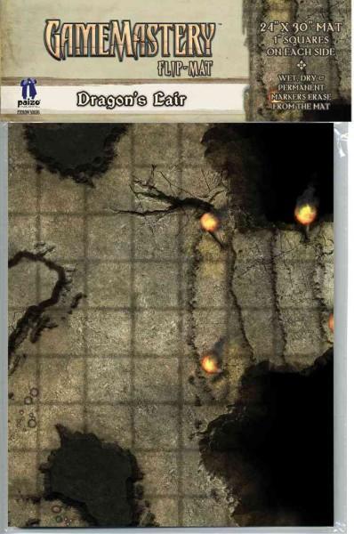 Gamemastery Flip-Mat: Dragon's Lair (Game)