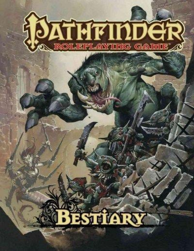 Pathfinder Roleplaying Game: Bestiary (Hardcover) - Thumbnail 0