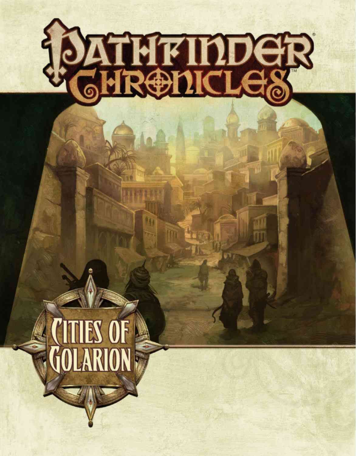 Cities of Golarion (Paperback)