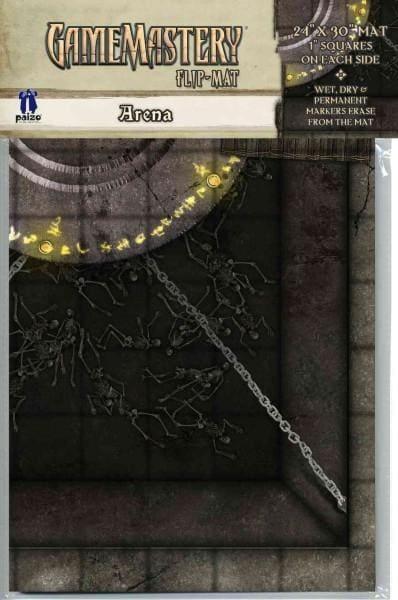 Gamemastery Flip-Mat: Arena (Paperback)
