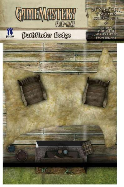 Gamemastery Flip-Mat: Pathfinder Lodge (Other book format)