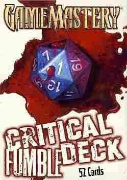 Pathfinder Cards: Critical Fumble Deck (Cards)