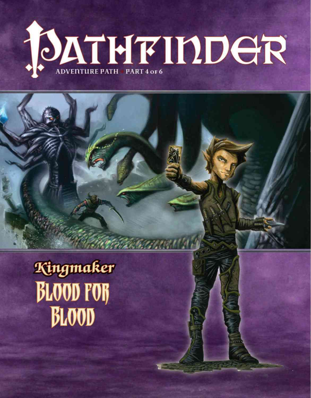 Pathfinder Adventure Path:Kingmaker: Blood for Blood(Paperback / softback)