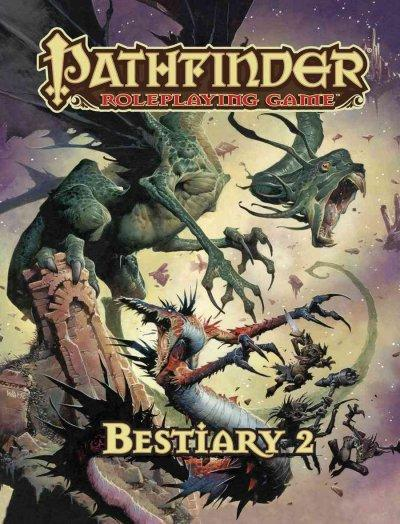 Pathfinder Bestiary 2 (Hardcover) - Thumbnail 0