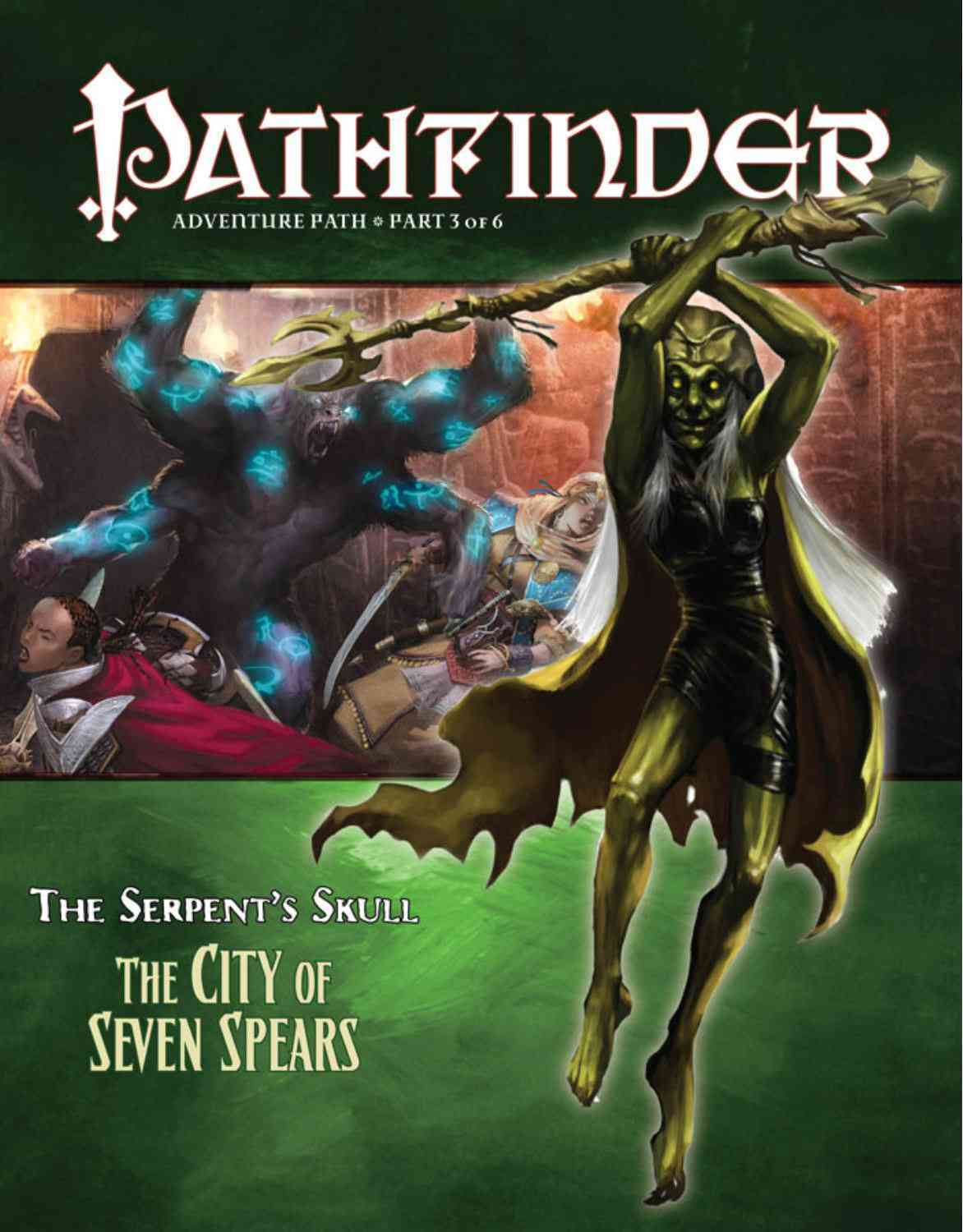 Pathfinder Adventure Path: The Serpent's Skull: City of Seven Spears (Paperback)