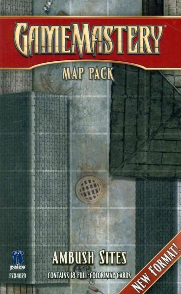 Gamemastery Map Pack: Ambush Sites: New Format! (Cards)