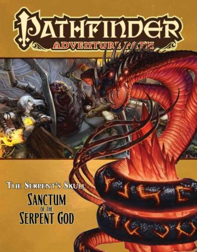 Serpent's Skull: Sanctum of the Serpent God (Paperback)