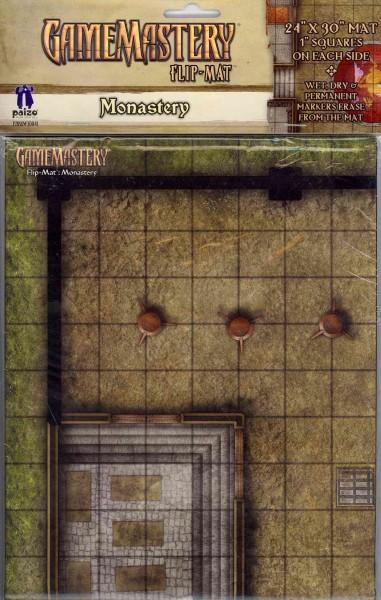 Gamemastery Flip-Mat: Monastery (Other book format)
