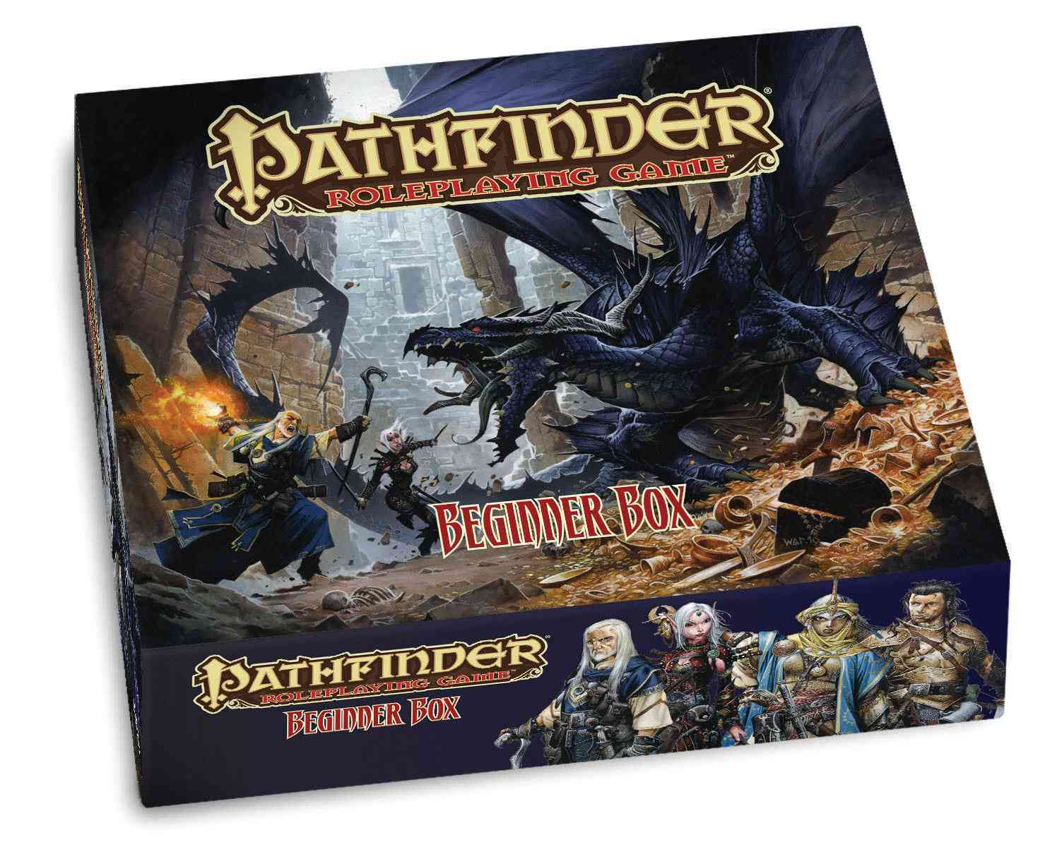 Pathfinder Roleplaying Game Beginner Box (Paperback)