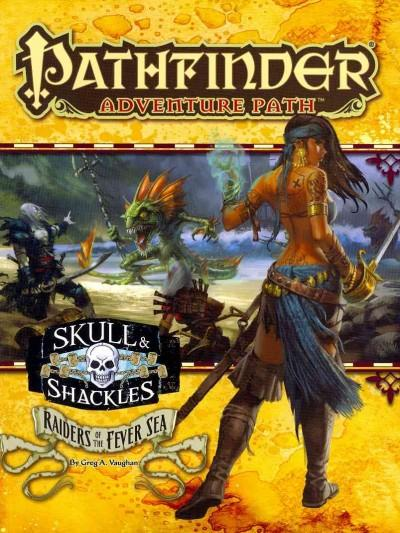 Pathfinder Adventure Path Skull & Shackles / Raiders of the Fever Sea (Paperback) - Thumbnail 0