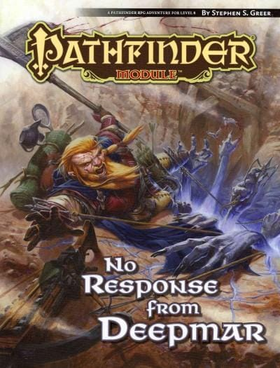 No Response from Deepmar (Paperback)