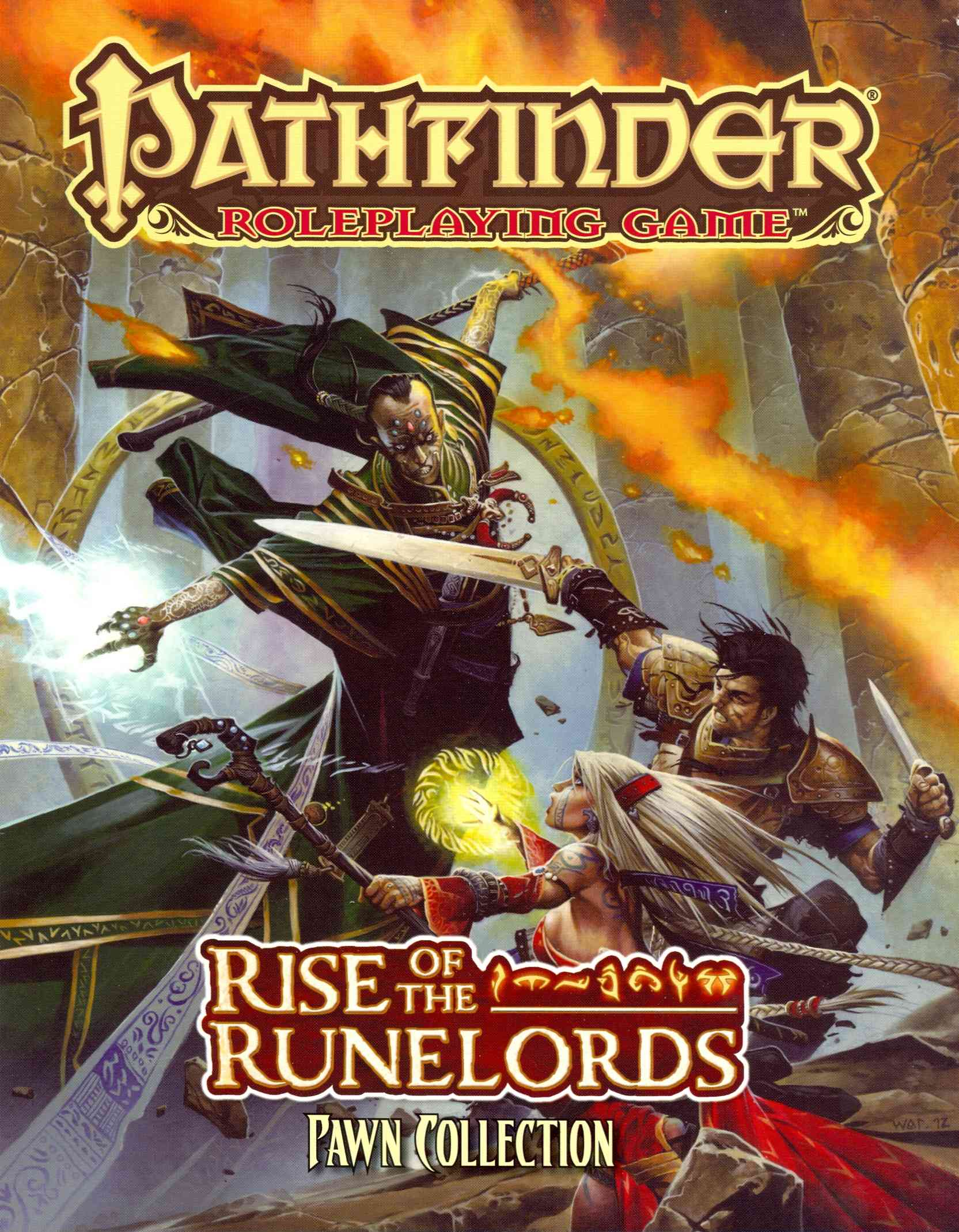 Pathfinder Roleplaying Game: Rise of the Runelords Pawn Collection (Hardcover)