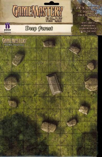 Gamemastery Flip-Mat: Deep Forest (Game)