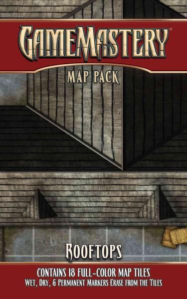 Gamemastery Map Pack: Rooftops (Paperback)