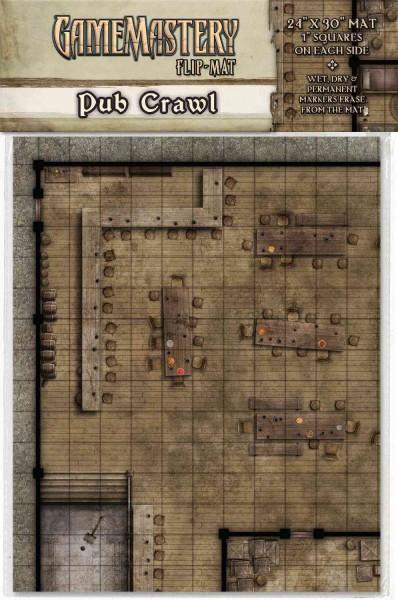 GameMastery Flip Mat: Pub Crawl (Poster)