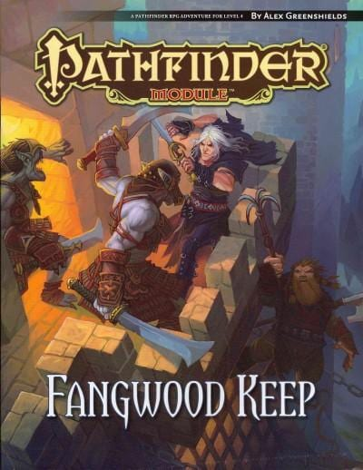 Fangwood Keep: A Pathfinder Rpg Adventure for Level 4 (Paperback)