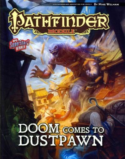 Pathfinder Module: Doom Comes to Dustpawn (Paperback)