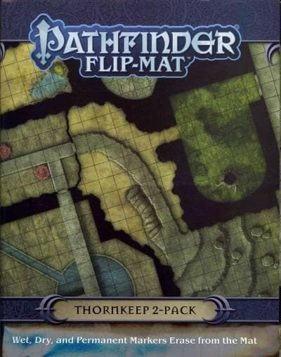 Thornkeep Dungeon 2-Pack Maps (Sheet map, folded)