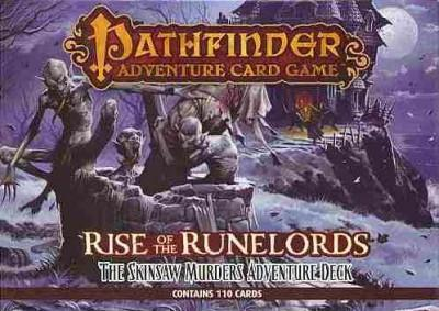 Rise of the Runelords: The Skinsaw Murders Adventure Deck 2 (Cards)