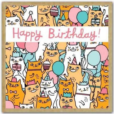 Birthday Cats: Small Gift Enclosure Cards (Cards)