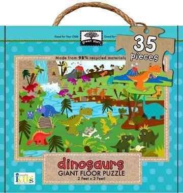 Dinosaurs: Green Start Giant Floor Puzzle (General merchandise)
