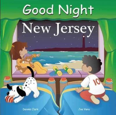 Good Night New Jersey (Board book)
