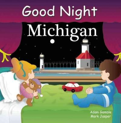 Good Night Michigan (Board book)