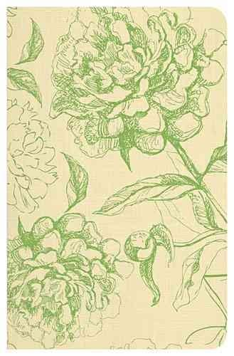 Santa Biblia: Rena-Valera, verde floral (Paperback)