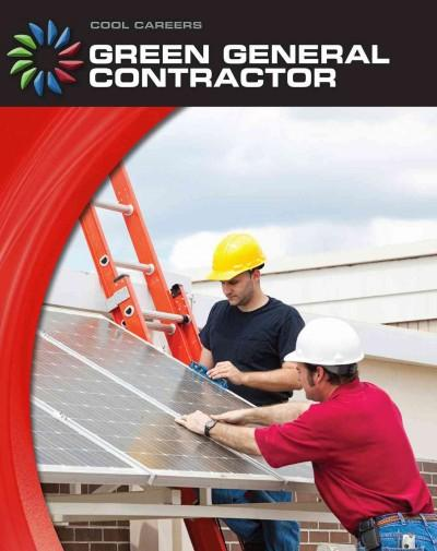 Green General Contractor (Hardcover) - Thumbnail 0