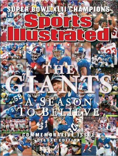 New York Giants World Champions Superbowl XLII: A Season to Believe-Commemorative Issue (Hardcover)