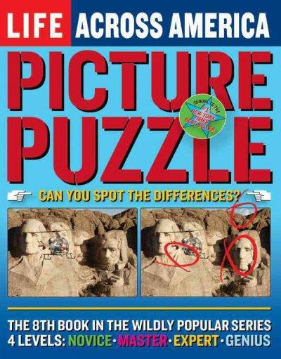 Life Picture Puzzle Across America (Paperback)