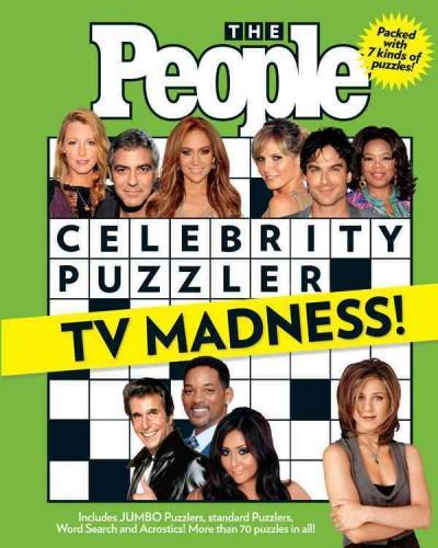 The People Celebrity Puzzler TV Madness! (Paperback)
