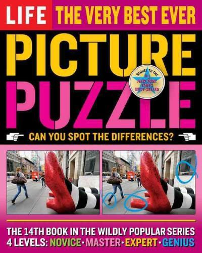 Life The Very Best Ever Picture Puzzle: Can You Spot the Difference? (Paperback)